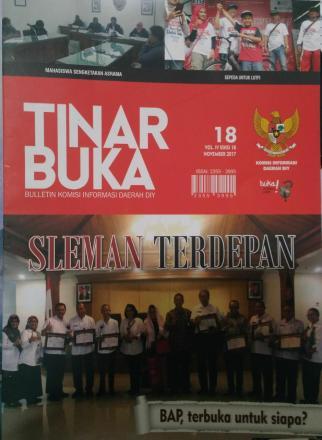 Majalah TINARBUKA Edisi 18 tahun 2017