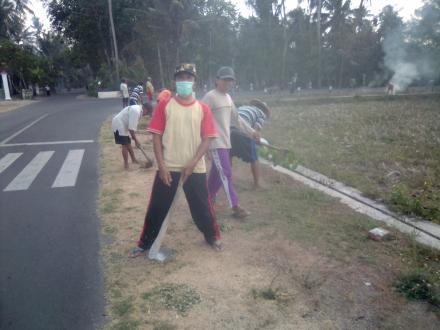 Kerja Bakti Warga Dusun Pranti
