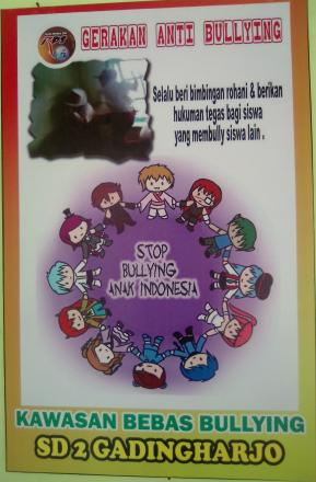 Gerakan Anti Bullying Di SD 2 Gadingharjo