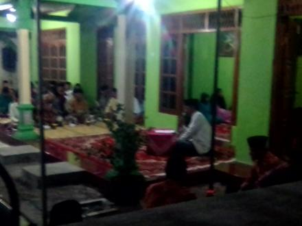 Pengajian Walimatul Akiqoh Di Dusun Pranti