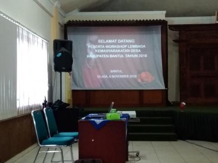 Workshop Lembaga Kemasyarakatan Desa