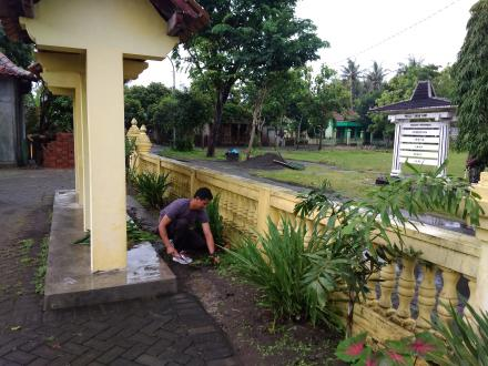 Persiapan dan Gladi Pelantikan Dukuh Merten Gadingharjo